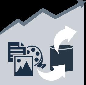 Zeit- und Kostenersparnis durch Medien-Datenbank